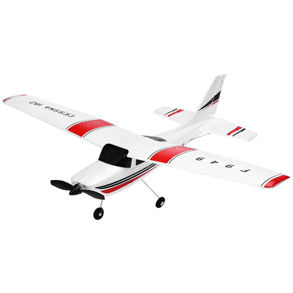 F949 2.4GHz <font><b>CESSNA</b></font>-<font><b>182</b></font> 3 Ch Control <font><b>Plane</b></font> Fixed Wing RTF Radio <font><b>RC</b></font> Airplane Outdoor Drone Toy for Kids image