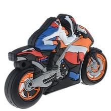 8GB Cartoon font b Motorcycle b font font b USB b font 2 0 Flash font