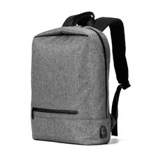 High Quality Men Anti-theft Backpack Laptop School Bag Casual Daypack USB Charging Port