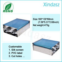 180*135*68mm Monitoring equipment Outdoor Box Outdoor surveillance assembly box waterproof Stainless steel Distribution Box