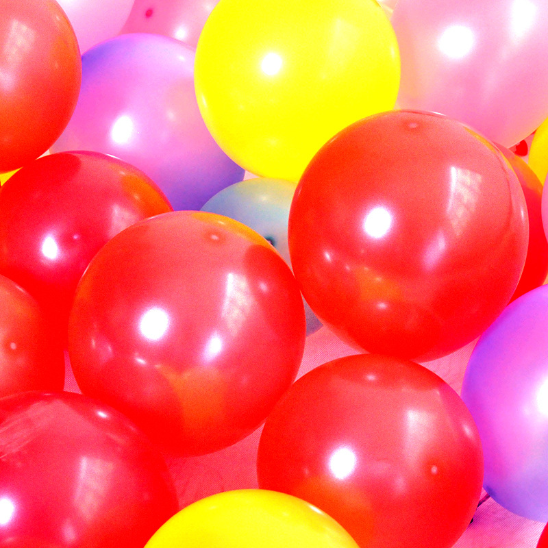 100pcs Lot 10 inch Latex Balloons Birthday Party Decorations Kids Event Party Supplies Halloween Decoracion Fiestas in Ballons Accessories from Home Garden