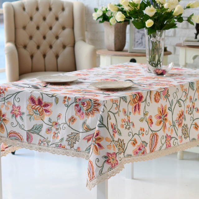 High quality table cloth table runner tablecloth dining table cloth table cloth rustic crayon painting