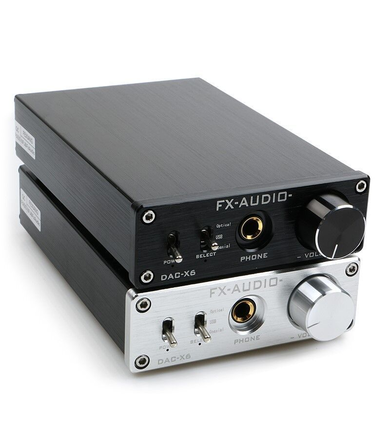 FX-AUDIO DAC-X6 MINI HiFi 2.0 Digital Audio Decoder DAC Input USB/Coaxial/Optical Output RCA/ Amplifier 24Bit/96KHz DC12V covenfest 2019 03 23t18 00