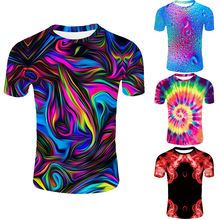 Novelty Colorful Art Summer 2019 Mens Fashion Streetwear 3d