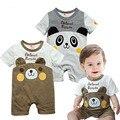 Quente do bebê das meninas dos meninos romper verão grils roupas crianças panda dos desenhos animados de alta qualidade clothing