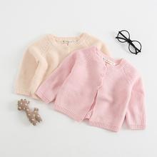 Jesień noworodka swetry rozpinane płaszcze stałe dziewczyny dzianiny odzież wierzchnia sweter dziewczyny zimowe ubrania dla dzieci odzież dla niemowląt kurtki topy tanie tanio Vivacuten Japan style Poliester Z wełny ZH-14 baby romper Pasuje prawda na wymiar weź swój normalny rozmiar Wełniane