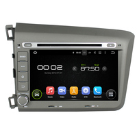 8 Octa Core Android 6 0 Car DVD Player For Honda Civic 2012 Car Video Audio