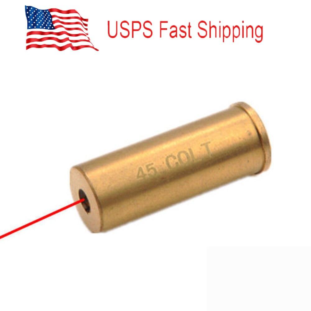 US Stock Red Laser CAL 45 Colt 45-70 Govt Bore Sight Boresighter Laser Boresight For Hunting