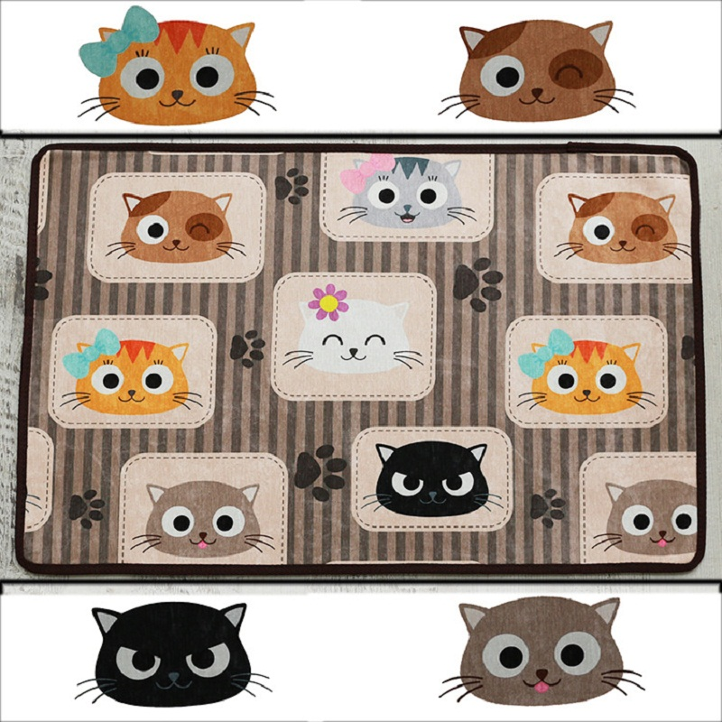 Cartoon Animal 3D Carpet Non-slip Carpets For Kids Super Soft Baby Crawl Rugs Mats and Carpets for home living room Kitchen Mat