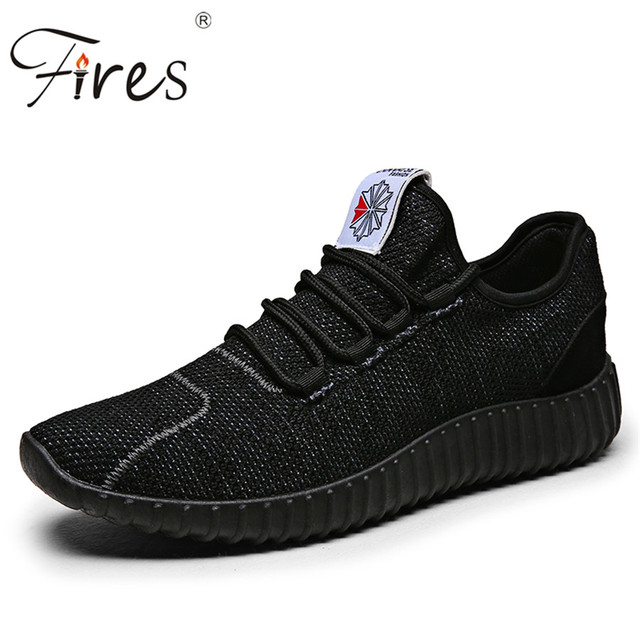 Fires Brand Sports Shoes Summer Sneakers For Man Spring Training Shoes Outdoor Trend Running Shoes Black And White Zapatillas