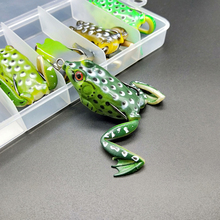 New Arrival Artificial Frog Lure Fishing Soft Black Fish Killer 55mm 15g lures for snakehead