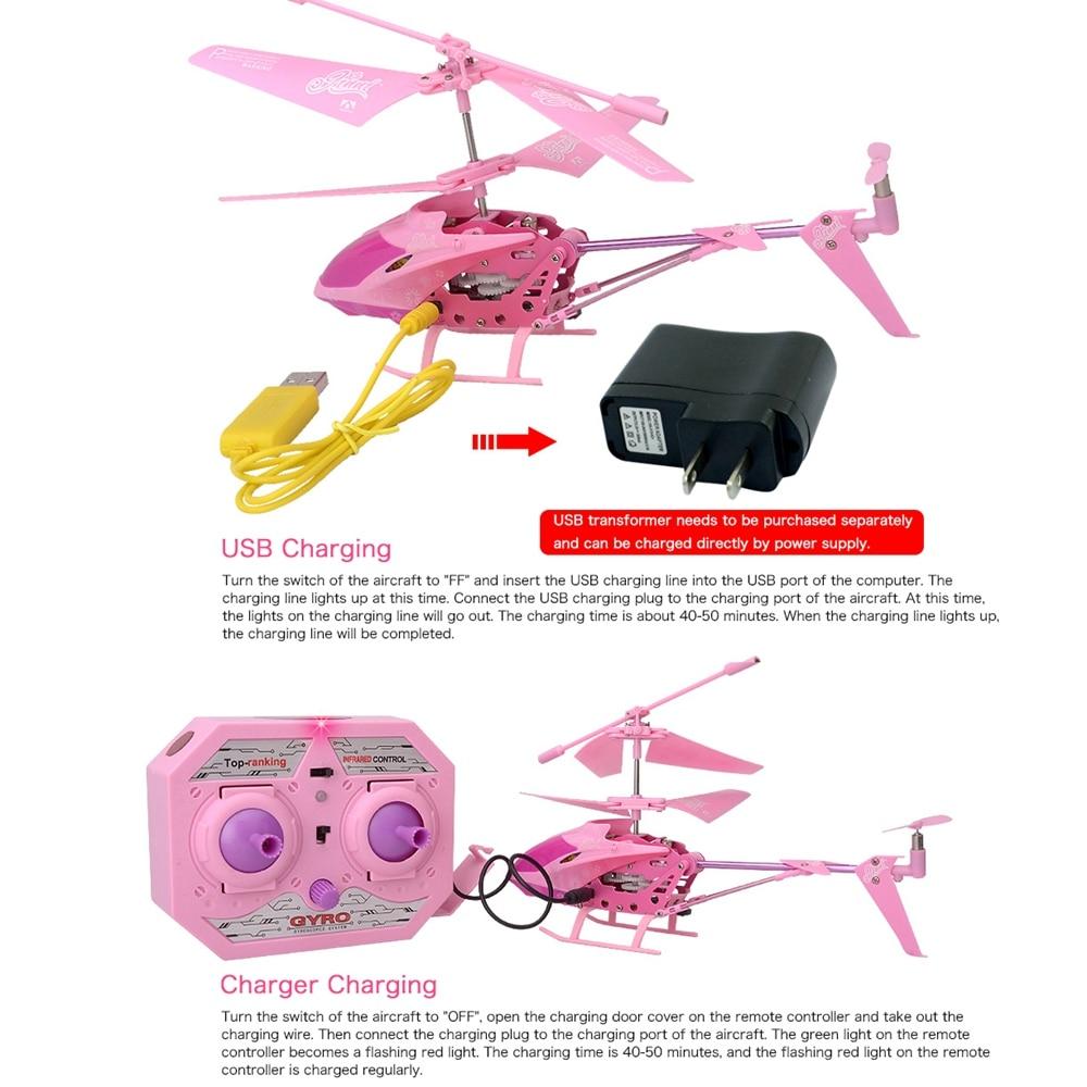 Model roze Quadcopter RC