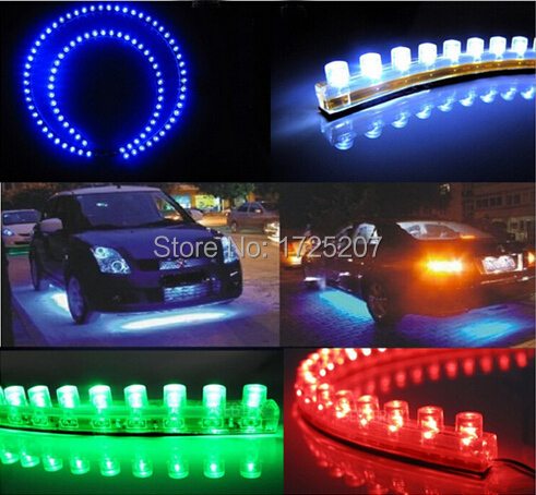 Car Styling 12V 24cm car LED DRL Light Strip For Daytime Running Light motorcycle car bike decoration waterproof Free Shipping tivdio wireless waiter calling system for restaurant service pager system guest pager 3 watch receiver 20 call button f3288b