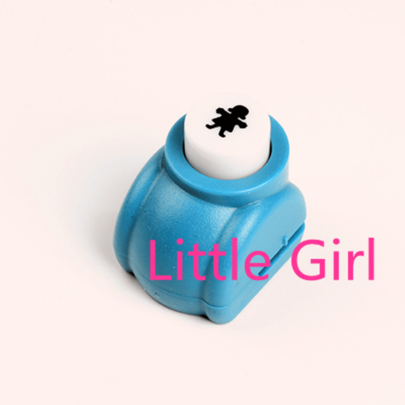 3/8 inch little girl shape craft punch DIY hole puncher ...
