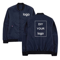 Windbreaker Customized logo print jacket Drop shipping mens jackets hip hop streetwear jacket and coats Stand Collar Men clothes