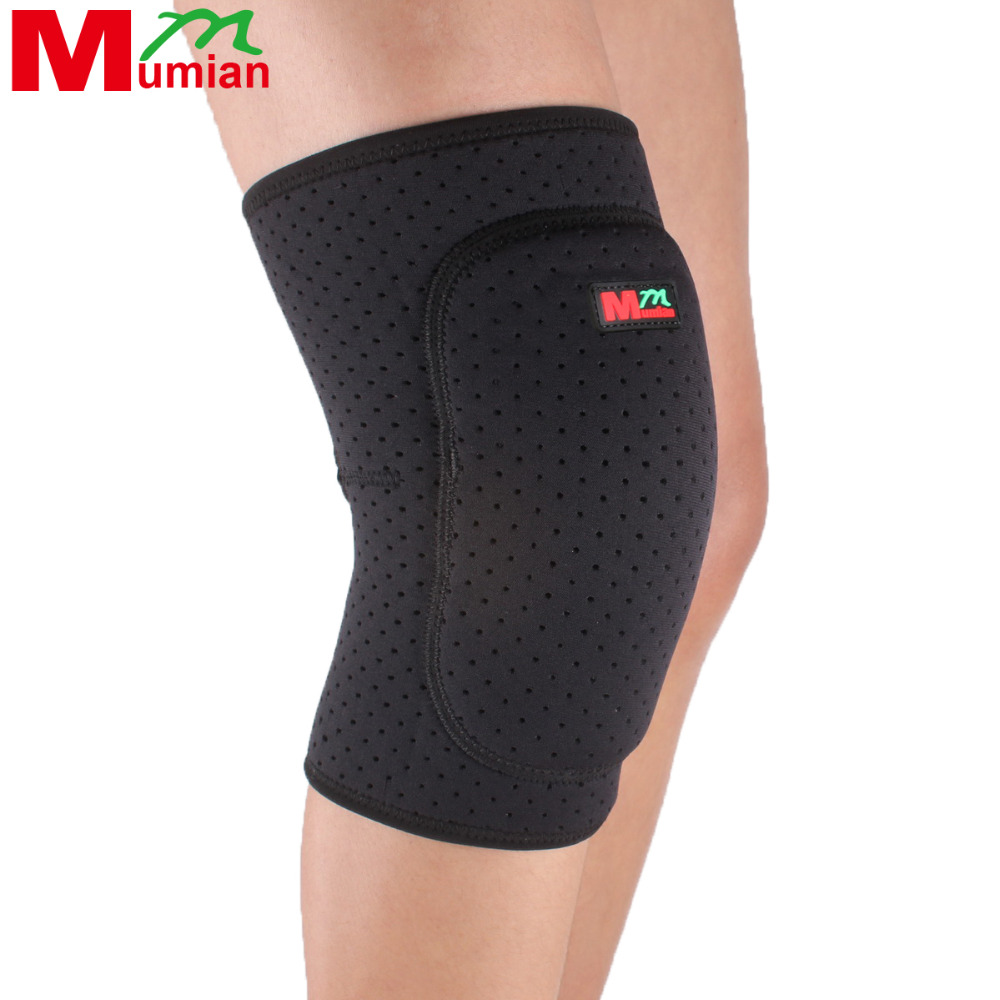 Tape Airsoftsports Tactical Basketball Knee Pads Sport Leg Knee Patella Support Brace Wrap Protector Pad Sleeve Thicken - B04