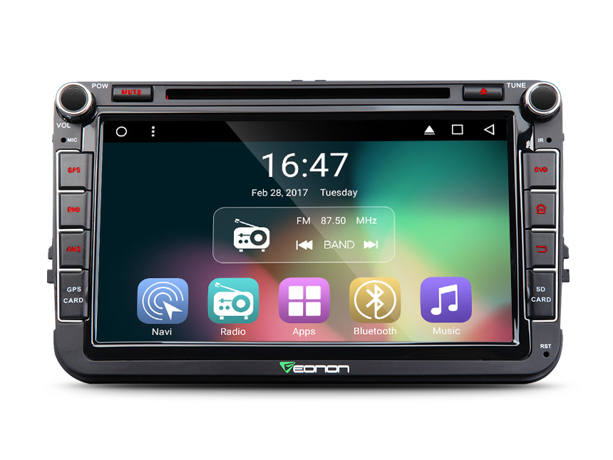 Android 6.0 OS 8″ Quad Core Car DVD for Volkswagen Bora 2006-2015 & Jetta 2006-2015 & Magotan 2006-2012 with Dual CanBus System