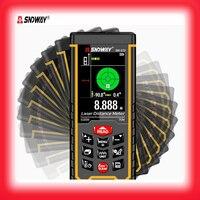 SNDWAY 2.4 inch color display Digital Laser range finder 50M 70M 100M metro laser Electronic Tape Measure laser distance meter