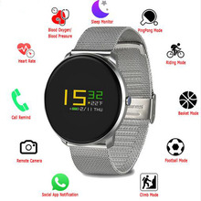 2018 SF007S IP67 Waterproof Colorful Smart Watch Wristband Band Heart Rate Monitor Blood Pressure Moving Bracelet PK mi band 2