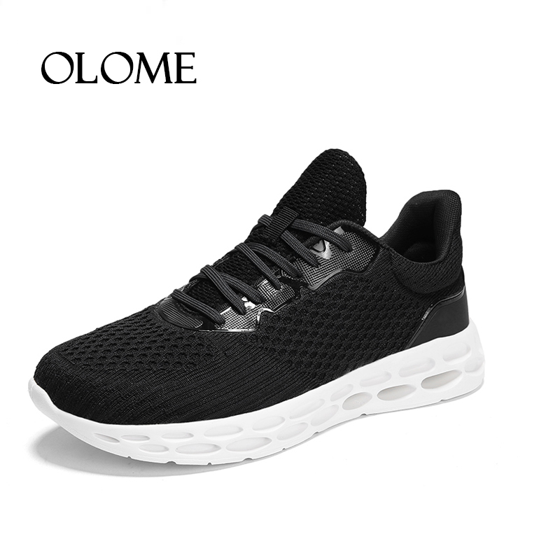Autumn Sneakers Casual Shoes Man Comfortable Plus Size 46 Men Footwear Fashion Man 2018 Male Black Shoes New sapatillas hombre