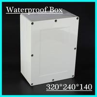 320 240 140mm 2015 High Quality IP66 Electrical Waterproof Aluminium Enclosure Box With 4 Screws