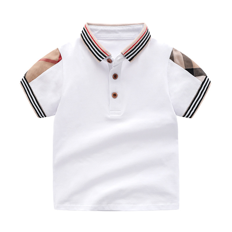 NEW 2019 Summer Unisex baby girls T shirts clothing Short 2 6 Years Treasure Blouses little girls tops toddler t shirt children