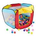 New Fun Crianças Brincar de Casinha Piscina Oceano Piscina de Bolinhas Interior Ao Ar Livre Dobrável Pit Tenda Jogo Hut Hideaway