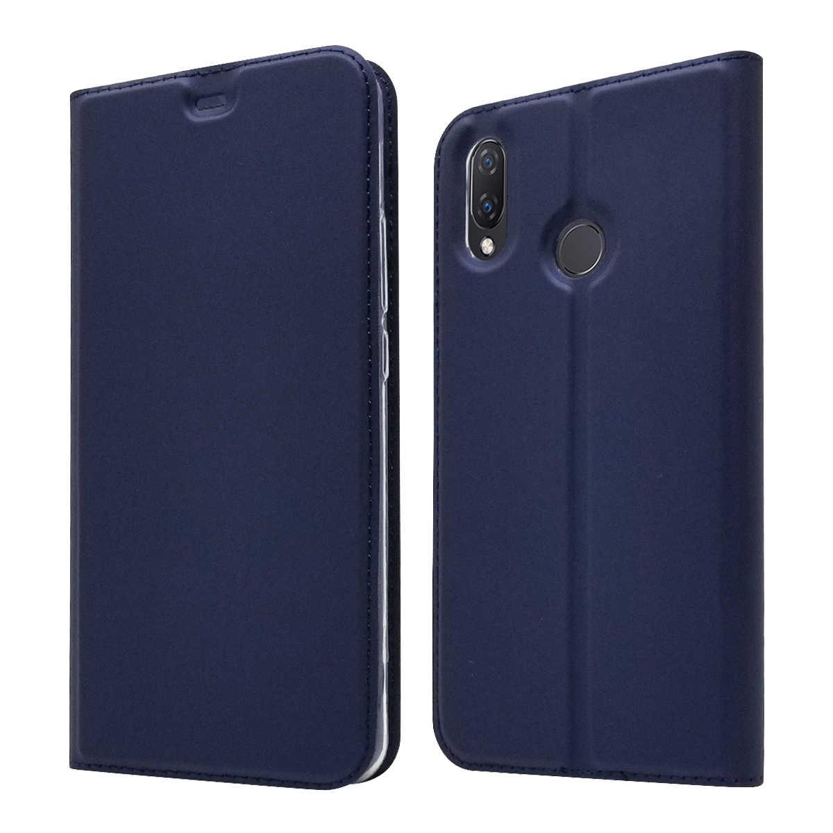 Модный флип-чехол из искусственной кожи huawei P Smart Z Plus Honor 8A Y5 Y6 Y7 Pro Y9 Prime 2018 2019 Магнитный чехол с полной защитой