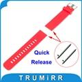 18mm Pulseira De Borracha De Silicone Liberação Rápida para Withings Activite/aço/pop smart watch band pulseira de resina pulseira 6 cores