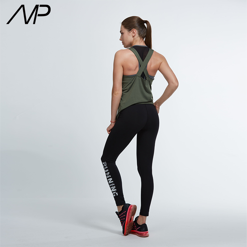 2018 Mp Hot Best Yoga Tops For Women S Lace Up Neckline X Back