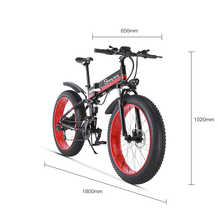 Electric bicycle 1000W Electric Beach Bike 4.0 Fat Tire Electric Bike  48V Mens Mountain Bike Snow E-bike 26inch Bicycle