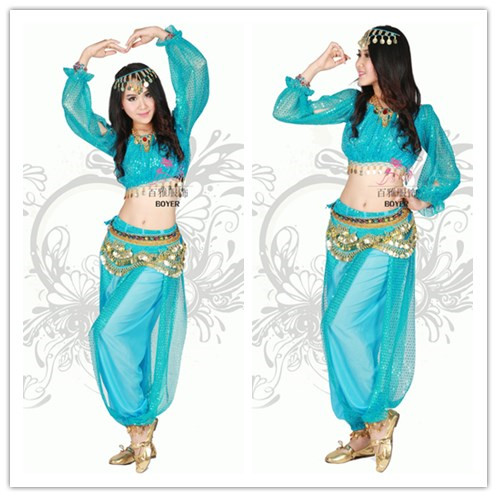 bollywood dance costumes for women indian belly dancer costume Pants And Top indian dance clothing belly dance costumes 2 prices