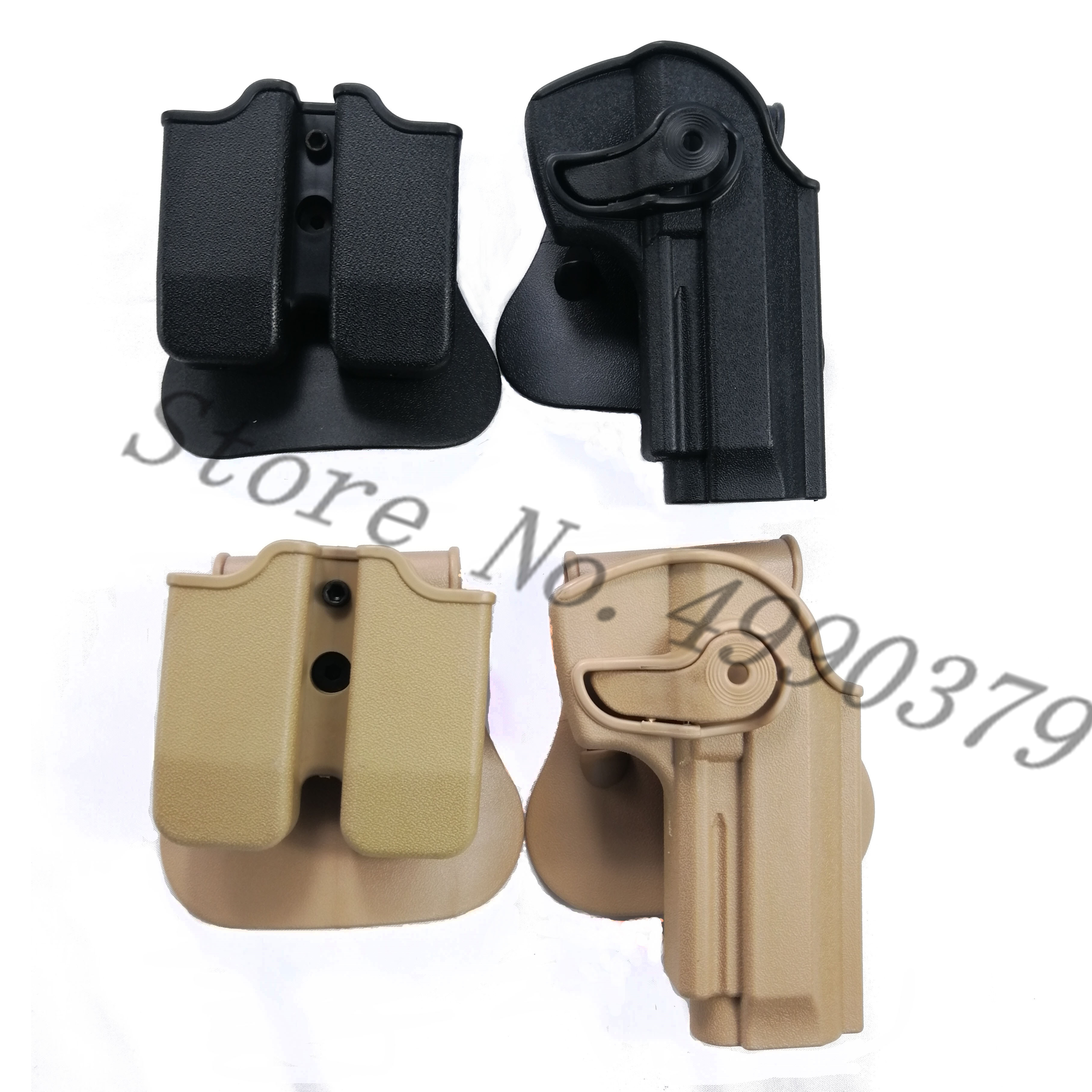 M9 Holster Tactical IMI Right Hand BERETTA M92 Paddle Pistol Gun Airsoft Case Hunting Accessories
