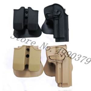 Image 1 - M9 Holster Tactical IMI Right Hand BERETTA M92 Holster Paddle Pistol Gun Holster Gun Airsoft Case Hunting Accessories