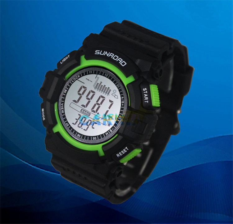 Sunroad Sport Military Wrist Watch Mens Altimeter Barometer Compass Thermometer Weather Pedometer Digital Watch Clock Men Saat At Any Cost Men's Watches Digital Watches