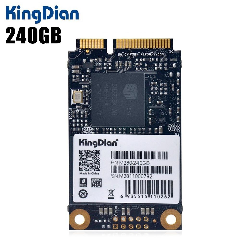 Original KingDian M280-120GB 120GB / 240GB Solid State Drive SSD 2.5 Inch MSATA Hard Disk 6Gb/S For Computer Hardware kingston suv400s37 ssd 240gb internal solid state drive 2 5 inch sata iii hdd hard disk hd notebook pc