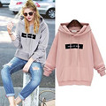 BornToGirl Women Spring Autumn Winter Hoodie Sweatshirt Casual Double Hoodies Long Sleeve Female Pullover Loose Tops Sweatshirts