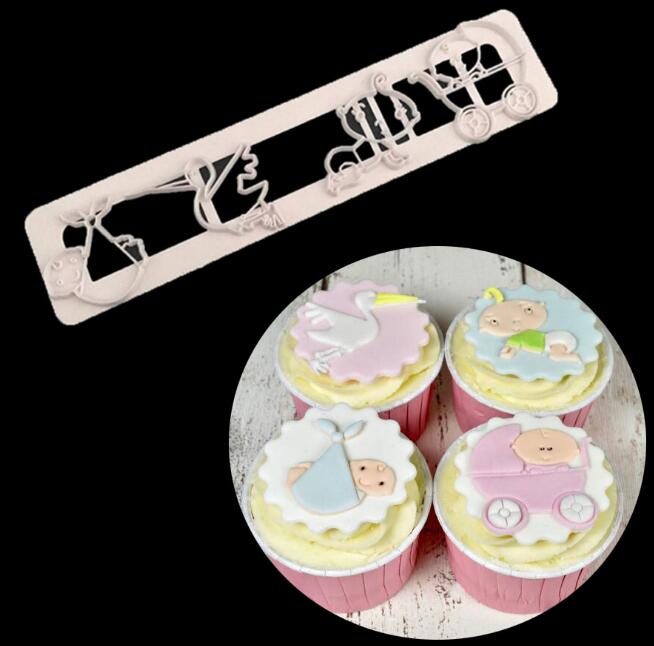 Icing Cutter Fondant Cake Decorating Tool Sugarcraft Other Baking Accessories Nursery Set