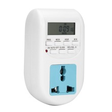 New UK/EU Plug Smart Digital Timer Energy Saving Timer Programmable Electronic Timer Socket Switch