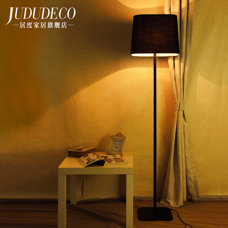 Nordic Kreative Lampen E27 Log Stoff Stehen Licht Wohnzimmer Nacht Klavier Leselampe Moderne Dekorative Beleuchtung