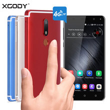 Xgody D22 Smartphone 5.5 Inch 2GB RAM 16GB ROM Android 7.0 Dual SIM 13.0MP Dual Cameras GPS Fingerprint Unlocked 4G Cell Phone