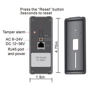 Image 2 - 1080 720pワイヤレスwifiビデオドアベルドア電話インターホンカメラpirモーション検出警報リモートロック解除