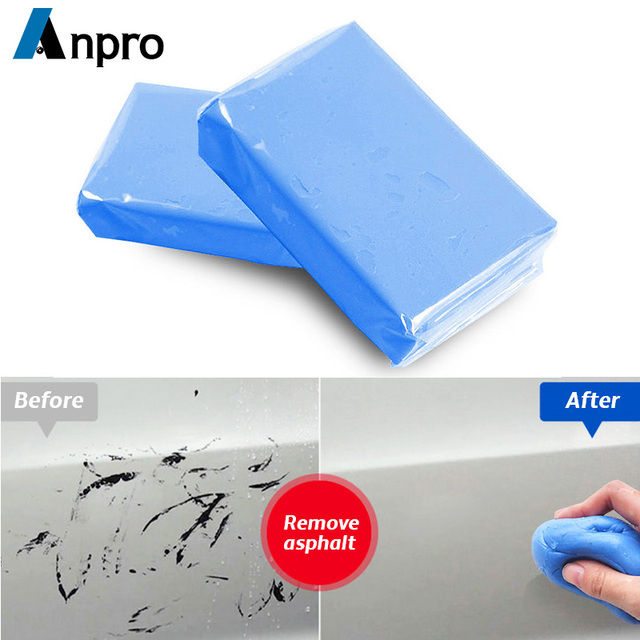 Anpro 100g Car Wash Magic Clean Blue Clay Bar Auto Vehicle Detailing Car Truck Clean Tools Magic Mud Car Cleaner Car Styling Z2