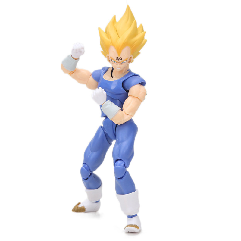 Dragon Ball Z Action Figure Gohan Goku Vegetto Vegeta Trunks Piccolo Freeza 18 with rotating joints 7