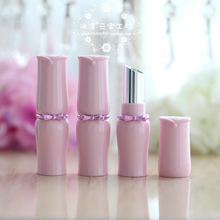 DIY Lipstick Hollow Tube Homemade Big Lipstick High-end Inclined Mouth Pink Butterfly Girl Heart Hot Filling(China)