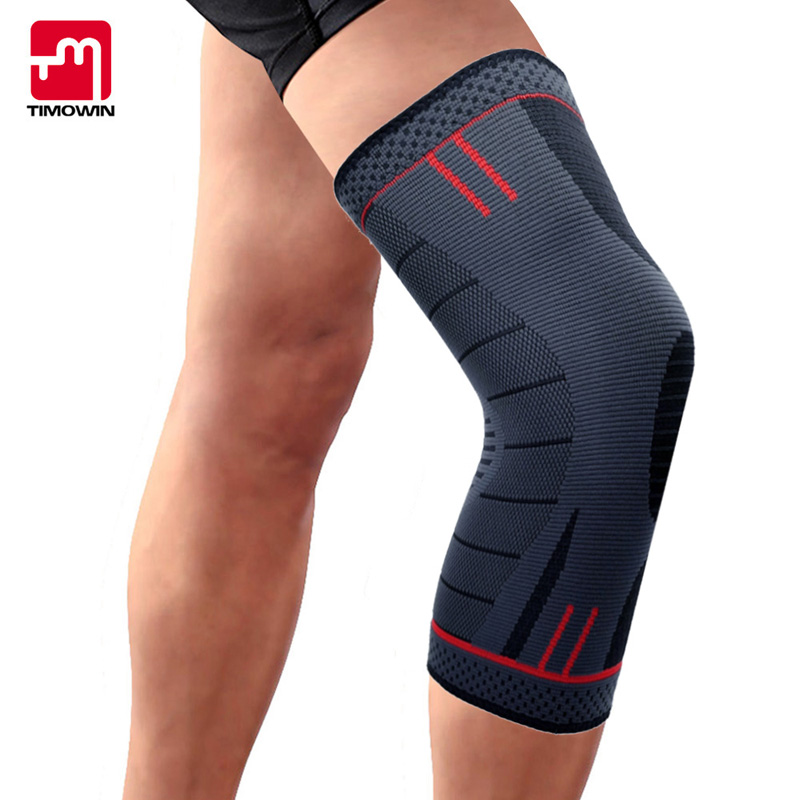 TIMOWIN 1 Piece Knee Pads Knee Protector for Running, Arthritis, Meniscus Tear, Sports, Joint Pain Relief and Injury Recovery camewin 1 pcs knee brace knee support for running arthritis meniscus tear sports joint pain relief and injury recovery