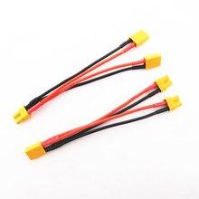 XT30 XT-30 параллельный кабель провод Y свинец 18AWG 10 см зарядное устройство кабель