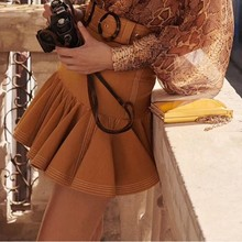 SE Fashion High Quality Designer Summer Mini Embroidey Balls Boutique Street Elegance Skirt 2019SS
