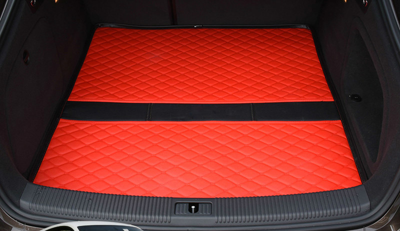 Custom special car trunk mats for Honda CRV XRV Odyssey Accord FIT JADE waterproof durable cargo rugs carpets