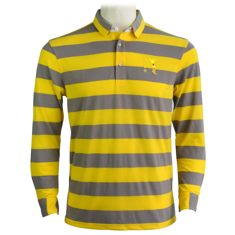 yellow golf shirt mens
